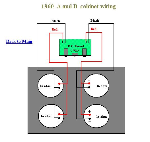 1960A Speaker wiring problem? | Harmony Central on ohm guitar speaker diagrams, 2 ohm speaker wiring diagrams, 12 ohm speaker wiring diagrams, 16 ohm speakers in series,